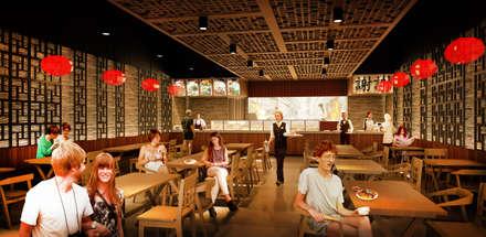 DA' ONE EXPRESS - KARAWACI, TANGERANG, BANTEN:  Restoran by IMG ARCHITECTS
