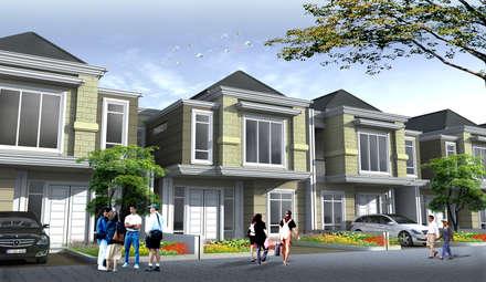 BANDUNG HOUSING - BANDUNG, JAWA BARAT:  Rumah by IMG ARCHITECTS