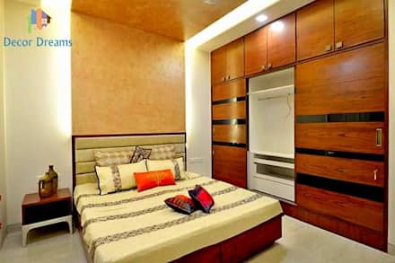Mr.Modi's Independent Bungalow: scandinavian Bedroom by DECOR DREAMS