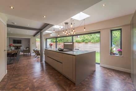 Overall view:  Kitchen units by John Gauld Photography