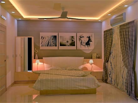 Dormitorios de estilo ecléctico por DECOR DREAMS