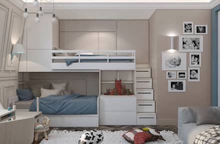 eclectic Nursery/kid's room by U-Style design studio