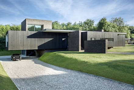 Country house by Eckostudio Horter S.A. de C.V.