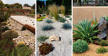 jardin 04 jardines de piedra de estilo por eckostudio horter sa de cv - Piedras Jardin