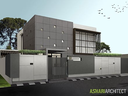 Palembang House:  Rumah by Ashari Architect