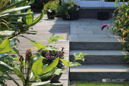 Projektsammlung Allgemein: ausgefallener Garten von Büscher Garten- und Landschaftsbau