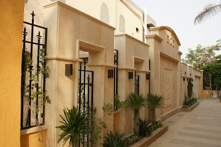 Private Residential Villa - Sheikh Zayed:  حديقة تنفيذ SIGMA Designs