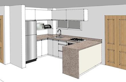 Cocinas ideas dise os y decoraci n homify for Componentes de una cocina integral