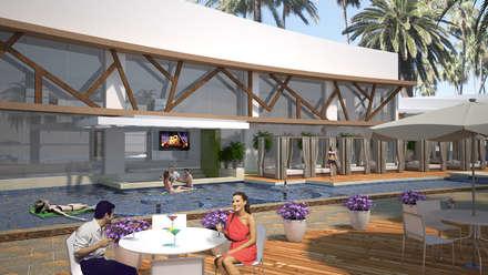 : Casas de estilo mediterráneo por ecoexteriores