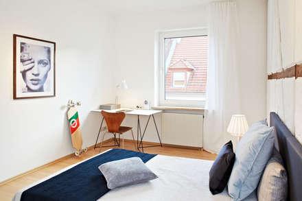 rustic Nursery/kid's room by Home Staging Bavaria