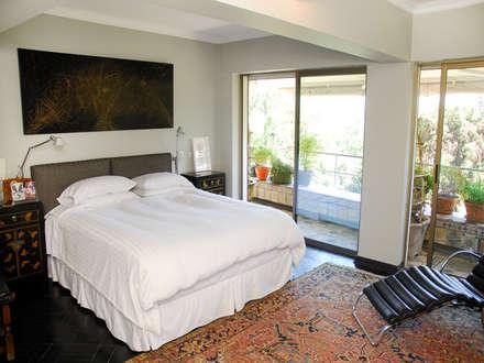 Dormitorio Principal: Dormitorios de estilo ecléctico por Francisco Vicuña Balaresque