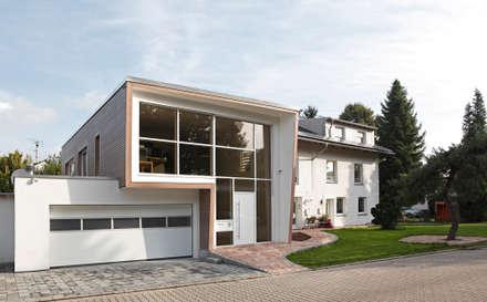 Ansicht Eingang (Foto: Velux Deutschland GmbH):  Einfamilienhaus von Ariane Dehghan