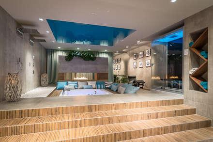 Baños Turcos de estilo  por Architektura i Wnętrza 'Profilart'
