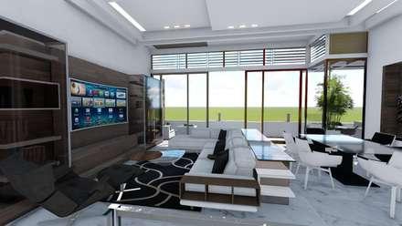 Pent House Virginia Loft, Maracaibo. Estado Zulia: Electrónica de estilo  por Arquitectura Creativa