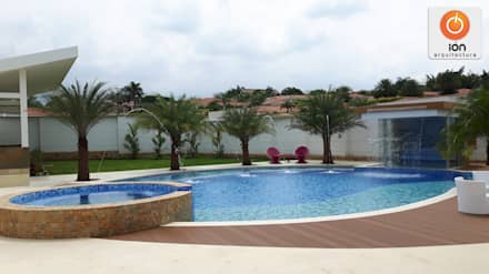 minimalistic Pool by ION arquitectura SAS