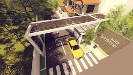 ELITE - La Pristine:  Carport by GREENcanopy innovations