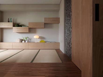 L House / Interior Design:  溫室 by 三石設計工程行