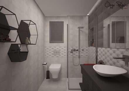 Deniz Gökçe Mimarlık ve İnşaat – Banyo | Bathroom: modern tarz Banyo