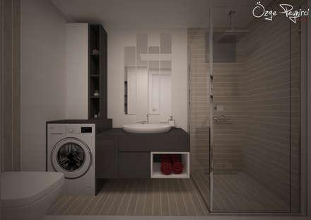 Deniz Gökçe Mimarlık ve İnşaat – Banyo   Bathroom: modern tarz Banyo