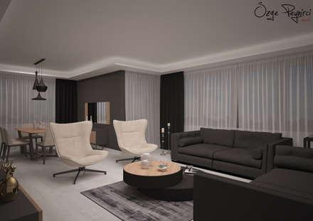 Deniz Gökçe Mimarlık ve İnşaat – Oturma Odası | Living Room: modern tarz Oturma Odası