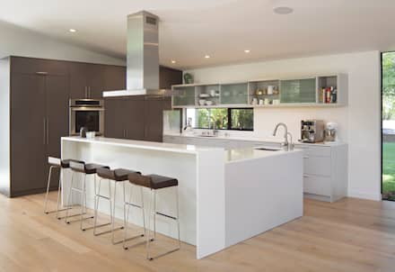 Creekside Residence: modern Kitchen by Feldman Architecture
