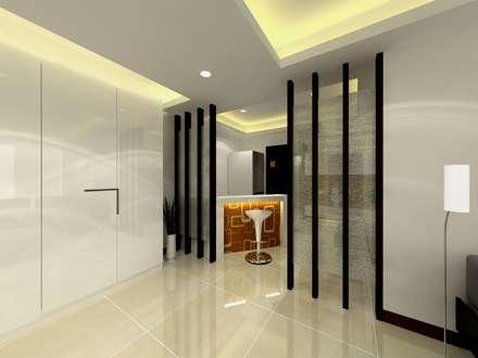 minimalistic Wine cellar by 劉旋設計事務所/劉旋工程有限公司