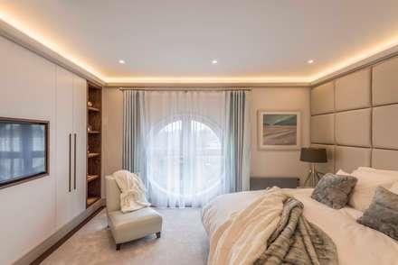 moderne Schlafzimmer von Prestige Architects By Marco Braghiroli