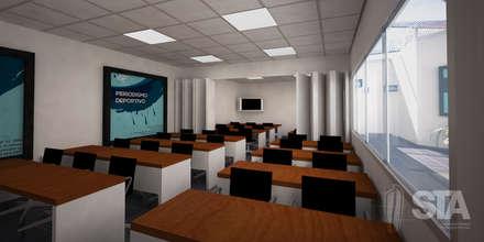 Aula Típica: Escuelas de estilo  por Soluciones Técnicas y de Arquitectura