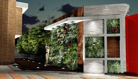 Front yard by Arquitectura Creativa