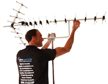 Aerial installations South Cerney:  Electronics by South Cerney Aerials