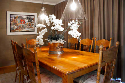 Burton Ave: classic Dining room by House Couture Interior Design Studio