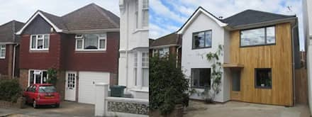Guide to External Cladding:  Multi-Family house by Building With Frames