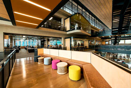 RCL Foods Offices:  Office buildings by Elphick Proome Architects