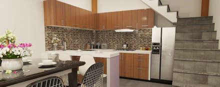 Built-in kitchens by CN y Arquitectos