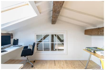 Двускатные крыши в . Автор – TALLER VERTICAL Arquitectura + Interiorismo