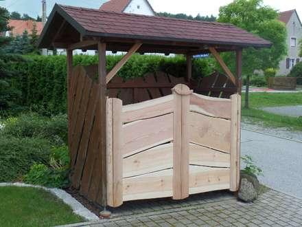 庭院遮陽棚 by Tischlerei Pohl