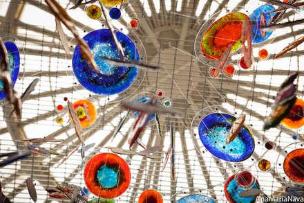 Nebula: Comedores de estilo  por Ana Maria Nava Glass