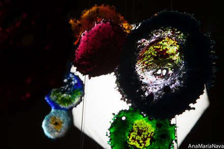 Nebula: Piscinas de estilo moderno por Ana Maria Nava Glass