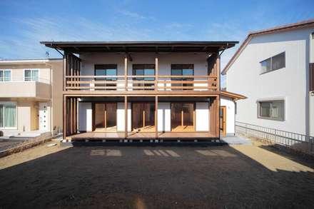 通り土間のある家: ヒロ設計室が手掛けた家です。