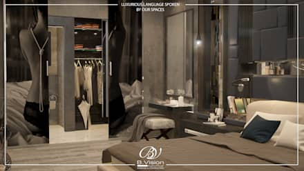 Dressing Room: modern Dressing room by Bvision Interiors