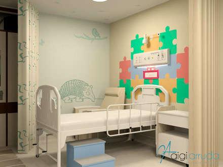 Hospitals by Gigi Arruda Interiores/ Pallecor