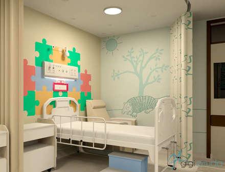 مستشفيات تنفيذ Gigi Arruda Interiores/ Pallecor