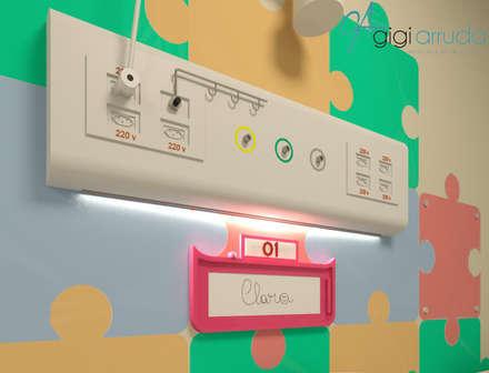 Hospitales de estilo  de Gigi Arruda Interiores/ Pallecor