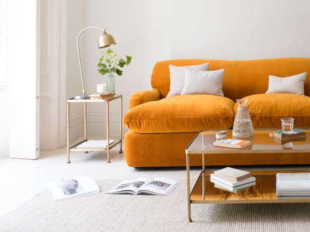 Wonder-Brass: modern Living room by Loaf