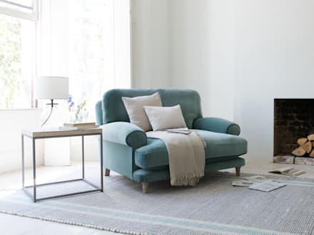 Slowcoach love seat: modern Living room by Loaf