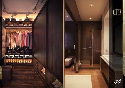 La Nouva Residence: modern Dressing room by Ori - Architects