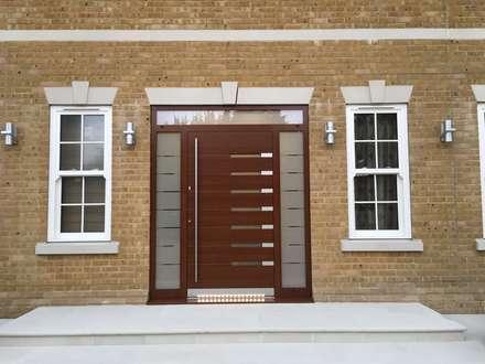 General Images:  Front doors by RK Door Systems