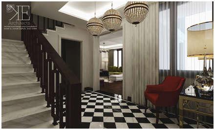 Design 3D - Foyer:  Corridor & hallway by KE-Architects