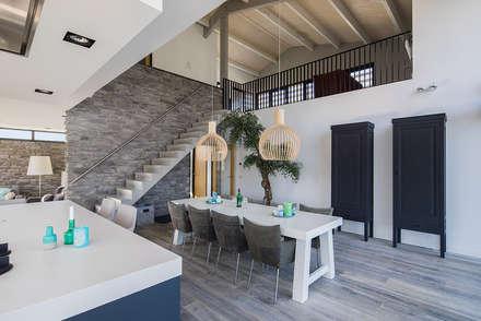 mediterranean Dining room by BNLA architecten