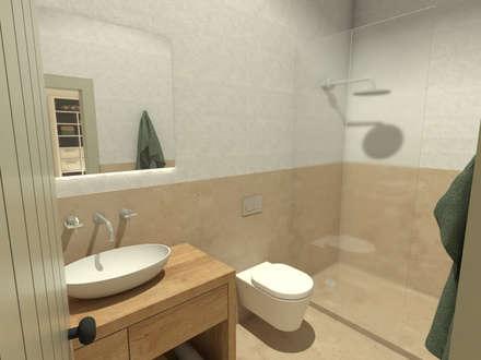 : Casas de banho mediterrânicas por Grupo Norma